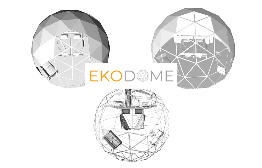 geodesic dome cabin