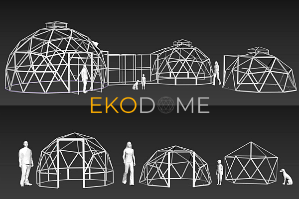Ekodome Customizable dome frames