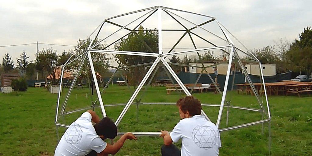 Ekodome Team Geodesic Dome Prototypes