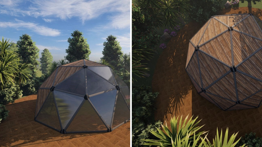 backyard geodesic dome structures